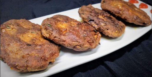 chicken chapli kebab