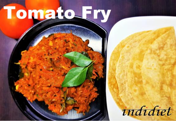 Tomato Fry - Tomato onion Roast