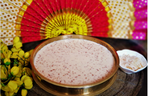 Traditional Paal Payasam