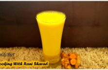 traditional turmeric golden milk from indidiet